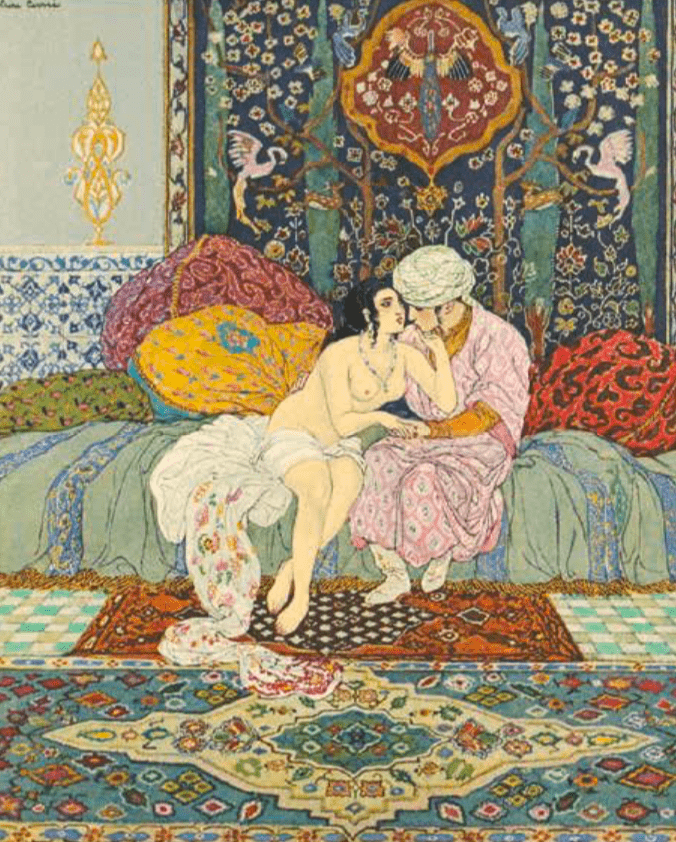 Traduction par JC Mardrus illustration de Léon Carré, décoration et ornements de Racim Mohammed Paris H. Piazza 1926 1929 © BNF